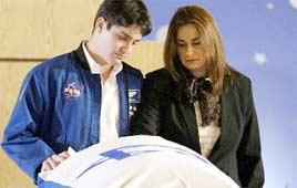 Assaf and Rona Ramon