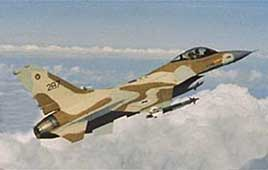 F-16 fighter (Photo: Israel Air Force website)