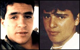 Soldiers Avi Sasportas and Ilan Sa'adon, killed in First Intifada (Reproduction photo)