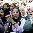 Palestinians in Yarmouk Photo: AP