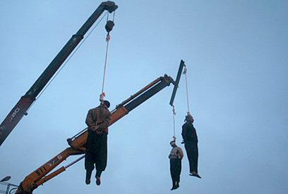 באיראן גוזרים עונשי מוות גם על עבירות של ניאוף (צילום: איי אף פי)