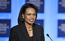 Secretary of State Rice at Davos conference (Photo: AFP)