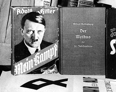 פרסום הספר בגרמניה אסור, אך פקיעת זכויות היוצרים תשנה זאת (צילום: AP)