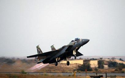 F-15 של חיל האוויר. ייסגרו טייסות מבצעיות (צילום: רויטרס)