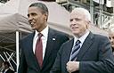 Senators Barack Obama and John McCain (Photo: Reuters)
