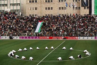 Scoop JSS: Emeutes dans un stade de foot palestinien