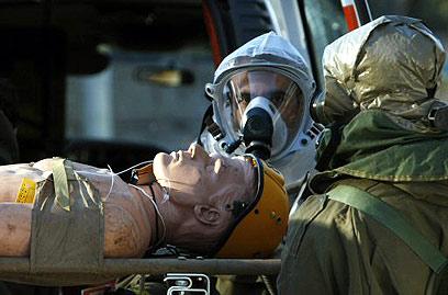 תרגילים יש, אבל מוכנות הרשויות נמוכה-בינונית (צילום: AFP)