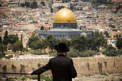 אבן שואבת לעיתונאים. ישראל (צילום: AP)