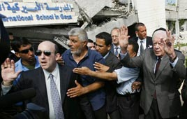 Carter in Gaza - 16 June 2009