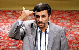 Iranian President Ahmadinejad (Photo: AP)