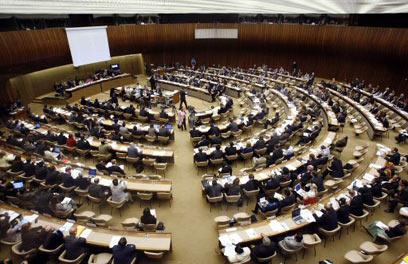 """עצרת האו""""ם. ארה""""ב לא רוצה להישאר לבד (צילום: רויטרס)"""