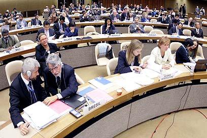 """מועצת זכויות האדם של האו""""ם. כלי לניגוח ישראל (צילום: איי אף פי)"""