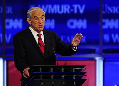 """הקואליציה הרפובליקנית יהודית: """"לא מופתעים"""". רון פול (צילום: AFP)"""