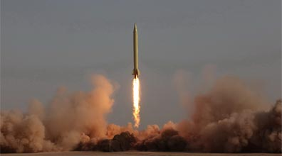 Iran test fires missile