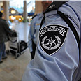 Police at Ben-Gurion Airport Photo: Yaron Brener
