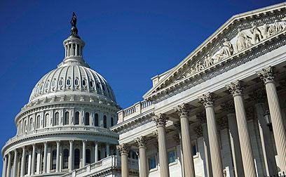 מאזן הכוחות לא צפוי להשתנות. בניין הקונגרס בוושינגטון (צילום: רויטרס)