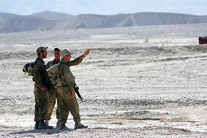 כוחות האוגדה לא מספיקים לחסום את הגבול הארוך (צילום: אליעד לוי)