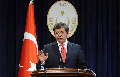 שר החוץ הטורקי. ההחלטה תלויה בנסיבות הפוליטיות (צילום: רויטרס)