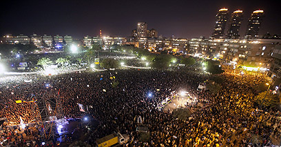 """המפגינים יחזרו לרחובות? """"קריאה אחרונה לראש הממשלה"""" (צילום: AFP)"""