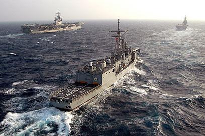 ספינות קרב טורקיות. בדרך למימי עזה?