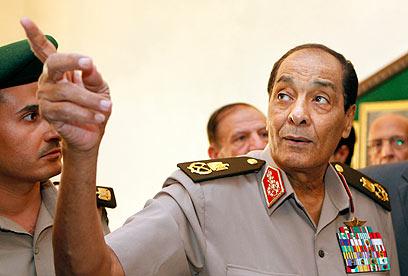 טנטאווי. סולימאן ומובארק הלכו, אבל גם התחליף היה יעיל (צילום: AFP)