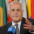 PA observer to the UN Riyad Mansour Photo: AFP