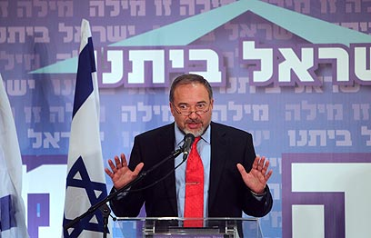 """שר החוץ, אביגדור ליברמן. """"מבחינתנו - עמדתו היא עמדת ישראל"""" (צילום: רויטרס)"""