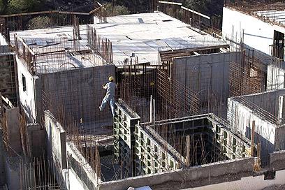 בנייה בירושלים. האמריקנים מאוכזבים (צילום: AFP)