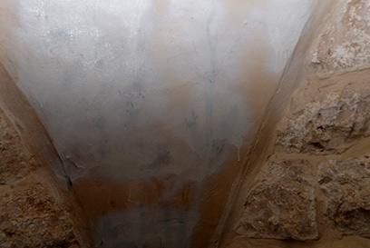 צלבי הקרס שנמחקו (צילום: מאיר ברכיה, באדיבות מועצה אזורית שומרון)