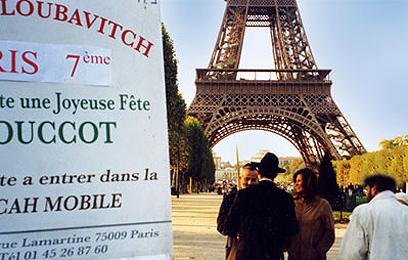 """לבקר במגדל, לסעוד בסוכה (צילום: באדיבות צעירי חב""""ד)"""