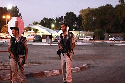 חיילים בבסיס תל נוף (צילום: אבי מועלם)
