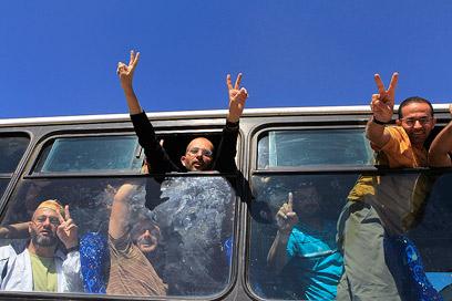 """""""שחרור אסירים הוא בהחלט לא פשוט"""" (ארכיון) (צילום: רויטרס)"""