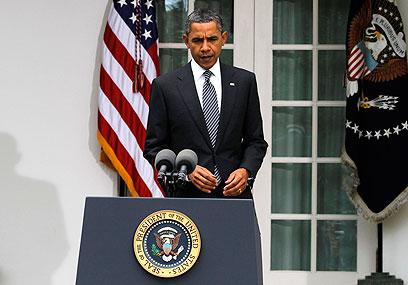 """נשיא ארה""""ב אובמה. הווטו הרוסי הוא מכשול בדרך לסנקציות (צילום: רויטרס)"""