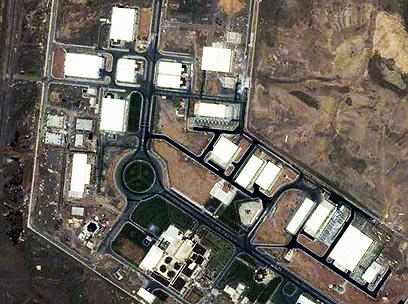 המתקן הגרעיני בנתנז. נוספו מכונות חדשות? (צילום: AP)
