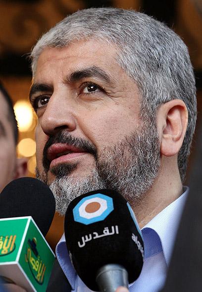 חאלד משעל. יגיע להלוויה בירדן      (צילום: AFP)