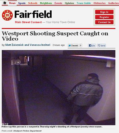 תמונת החשוד במצלמות האבטחה כפי שפורסמה בתקשורת האמריקנית