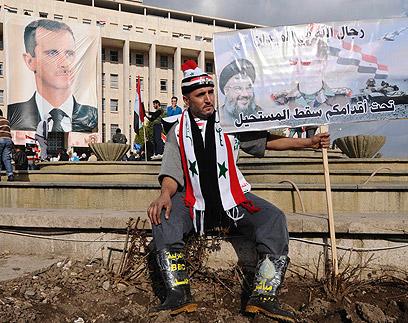 חיזבאללה בסוריה. השפעה מכרעת (צילום: רויטרס)