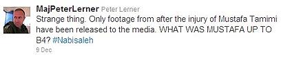 עוד ציוץ של לרנר