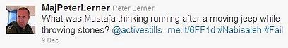 """""""מה הוא חשב לעצמו?"""". הציוץ של לרנר"""