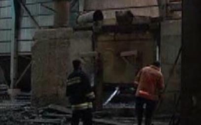 מפעל הפלדה ביזד שבו אירע הפיצוץ