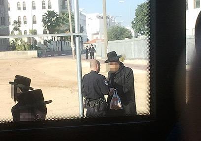 המקרה נגמר ברוח טובה, טענו במשטרה. איש לא נעצר (צילום: טניה רוזנבליט)