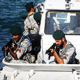 Iranian navy at Strait of Hormuz Photo: EPA