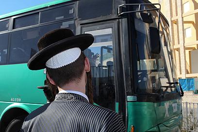 """אוטובוס """"אגד"""". האישום בוטל (צילום: אוהד צויגנברג)"""