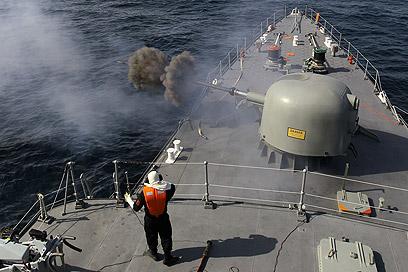 התרגיל הימי הקודם (צילום: MCT)