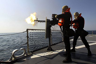 Iranian navy's drill in December (Photo: MCT)