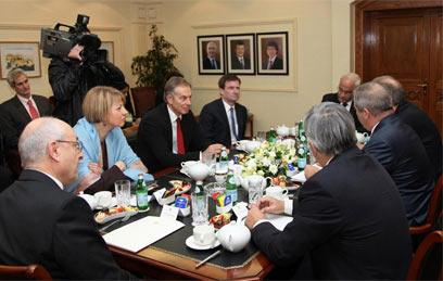 הפגישה בשבוע שעבר בירדן (צילום: AFP)