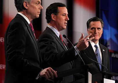 הרפובליקנים מתעמתים. הכל למען בסיס התמיכה (צילום: AFP)