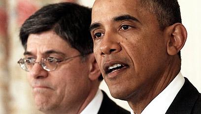 """ג'קו לו עם נשיא ארצות הברית, ברק אובמה. """"יישאר נאמן לדמוקרטים"""" (צילום: רויטרס)"""
