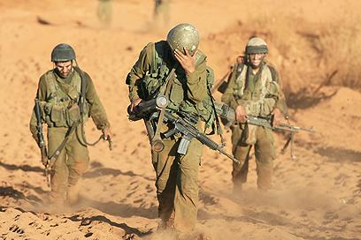 """""""הצבא מנצל רק שליש מימי המילואים"""" (ארכיון) (צילום: מיכאל קרמר)"""