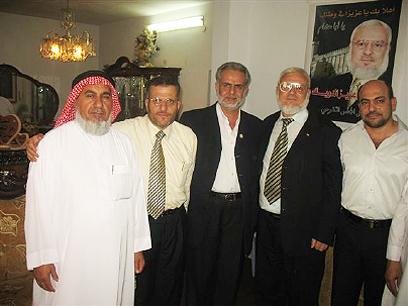 חברי הכנסת גנאים וצרצר עם דוויק
